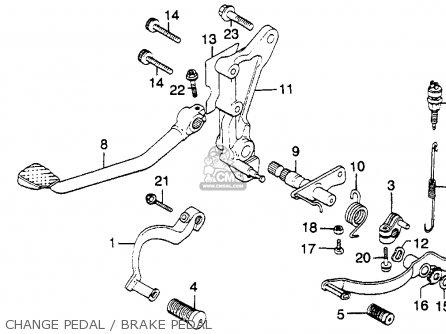 Motorcycle Diagram Fork on Custom 1981 Honda Cb900c Parts