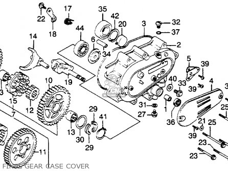 Honda Cb900c 900 Custom 1982 C Usa Parts Lists And Schematics