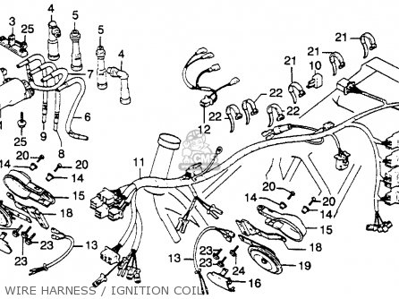 Honda Wiring Harness Diagram