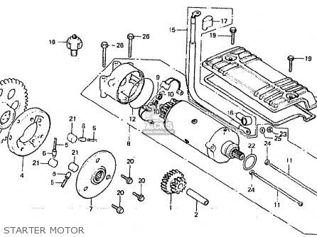 Honda Cb900f2c Bol Dor Parts Lists And Schematics