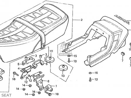 honda cb900fa bol d or parts list partsmanual partsfiche