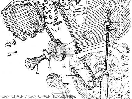 Honda Cb92 Benly Super Sport 1959 Usa Cam Chain   Cam Chain Tensioner