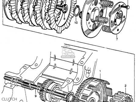 Honda Cb92 Benly Super Sport 1959 Usa Clutch