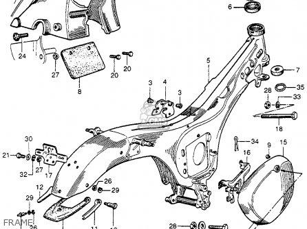 Honda Cb92 Benly Super Sport 1959 Usa Frame