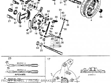 Honda Cb92 Benly Super Sport 1959 Usa Front Wheel   Front Brakes
