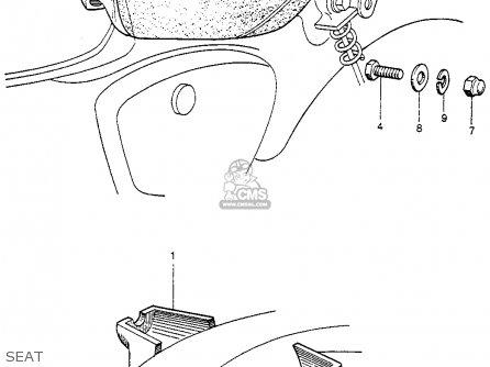 Honda Cb92 Benly Super Sport 1959 Usa Seat