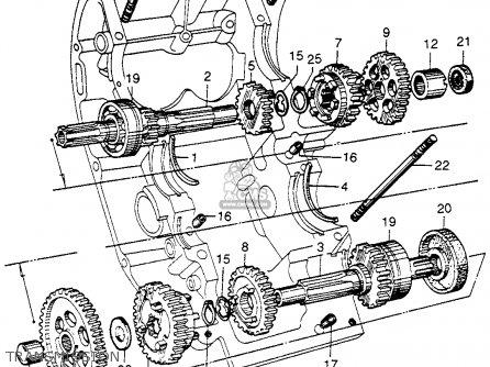 Honda Cb92 Benly Super Sport 1959 Usa Transmission