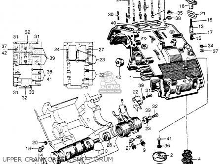 Honda Cb92 Benly Super Sport 1959 Usa Upper Crankcase   Shift Drum