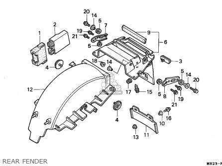 Wiring Diagram For Honda Cbr1000f
