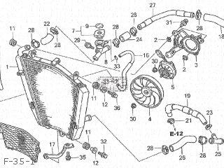 honda cbr1000rr 2007 7 japan sc57 130 parts lists and schematics Honda CBR Turbo Kit f 35 1