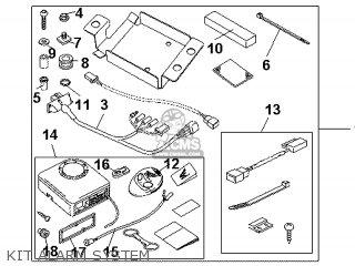 Honda CBR1000RR 2009 (9) ENGLAND / TYPE 5 MKH REP parts ...