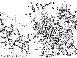 Honda Cbr1000rr Fireblade 2006 6 France Cmf Parts Lists And. Honda Cbr1000rr Fireblade 2006 6 France Cmf Cylinder Head. Honda. Honda Cbr 1000rr Engine Diagram At Scoala.co