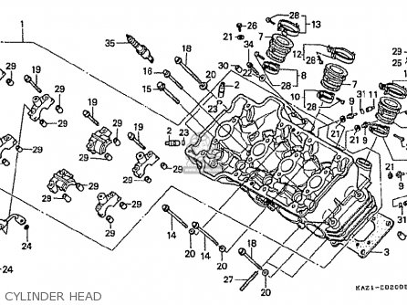 Honda Cbr250rr Mc22 1992 N Japan Parts Lists And Schematics