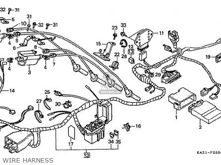 Honda Cbr 250 Wiring Diagram