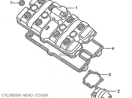 Honda Cbr400rr 1989 k Japanese Domestic   Nc23-109 Cylinder Head Cover