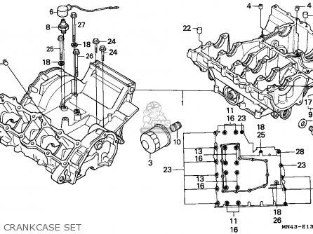 honda cbr600f hurricane 1989  k  england    mkh parts list