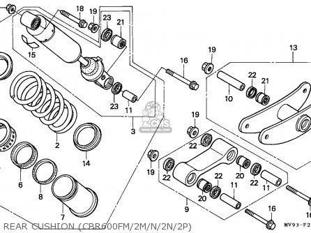 1991 Cbr 600 Wire Diagram