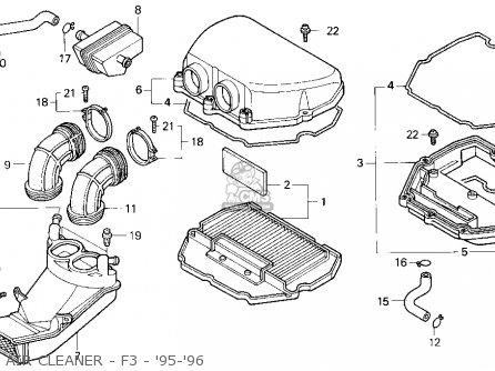 honda motorcycle 600 f3 honda cbr 450 1997 wiring diagram
