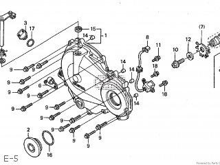 Honda Cbr600f4i 2001 Hrc St Ss600 Parts Lists And Schematics
