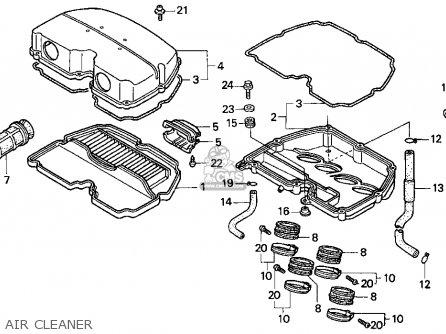Honda Cbr900rr 1995 s Usa California Air Cleaner