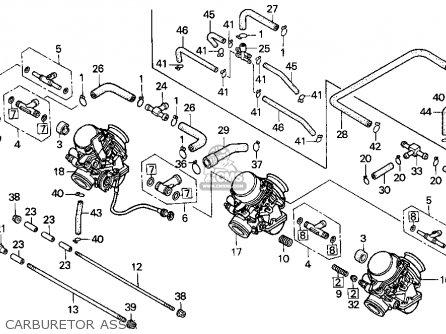 Honda Cbr900rr 1995 s Usa California Carburetor Assy
