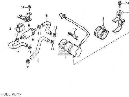 Honda Cbr900rr 1995 s Usa California Fuel Pump