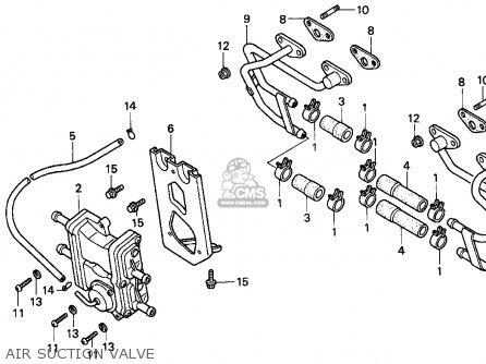 Honda Cbr900rr Cbr 1995 s Usa Air Suction Valve