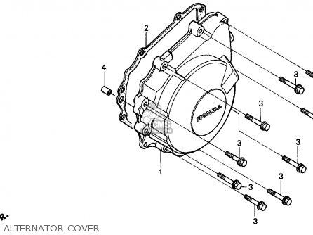 Honda Cbr900rr Cbr 1995 s Usa Alternator Cover
