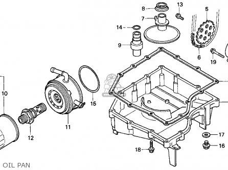 Honda Cbr900rr Cbr 1995 s Usa Oil Pan