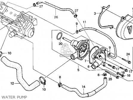 Honda Cbr900rr Cbr 1995 s Usa Water Pump