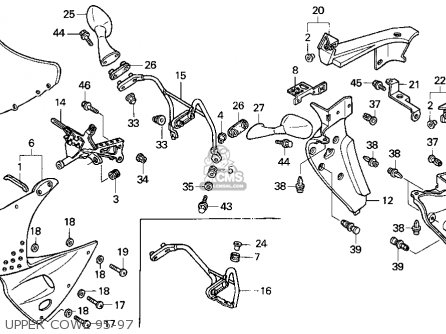 97 Honda Cbr900rr Wiring Diagram on honda passport parts diagram