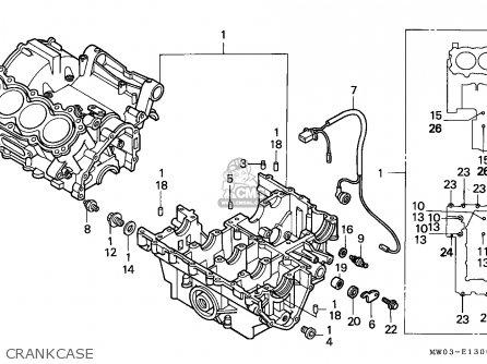 honda cbr900rr fireblade 1993 p netherlands parts lists. Black Bedroom Furniture Sets. Home Design Ideas