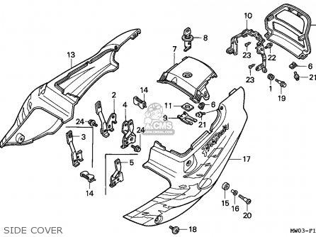 honda cbr900rr fireblade 1993 p netherlands parts list. Black Bedroom Furniture Sets. Home Design Ideas