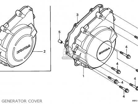 Honda Cbr900rr Fireblade 1996 T Singapore Parts Lists And Schematics