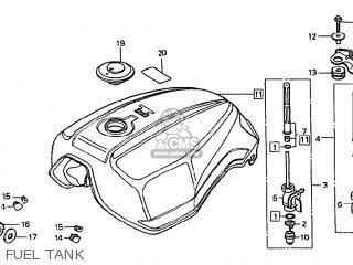 honda 250ex engine diagram