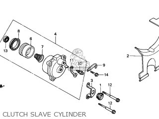 slave cylinder diagram 1995 ford f150