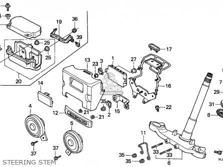 Honda Cbx750p2 1990 l Mexico   Plr Steering Stem