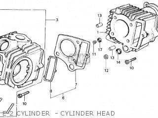 e-2 cylinder - cylinder head
