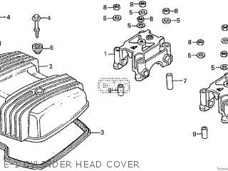 Honda Cd195ta E-1 Cylinder Head Cover
