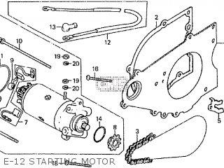 Honda Cd195ta E-12 Starting Motor