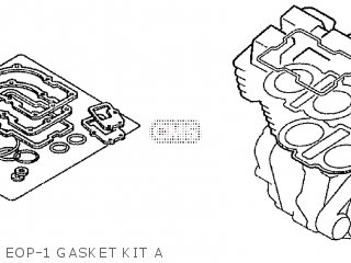 Honda Cd195ta Eop-1 Gasket Kit A