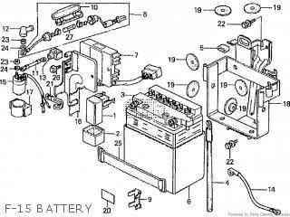 Honda Cd195ta F-15 Battery