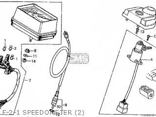 Honda Cd195ta F-2-1 Speedometer 2