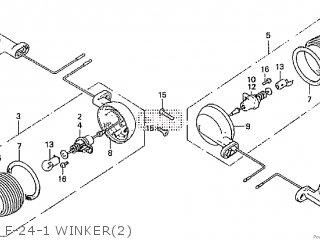 Honda Cd195ta F-24-1 Winker2