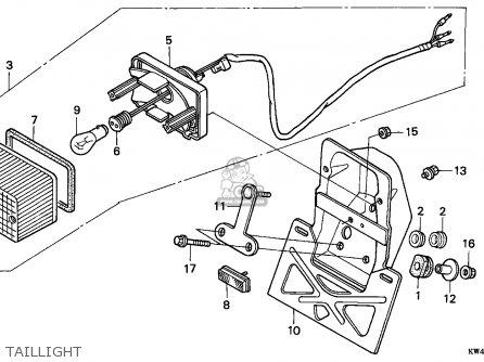 Honda Cd250u 1989 K Australia Parts Lists And Schematics