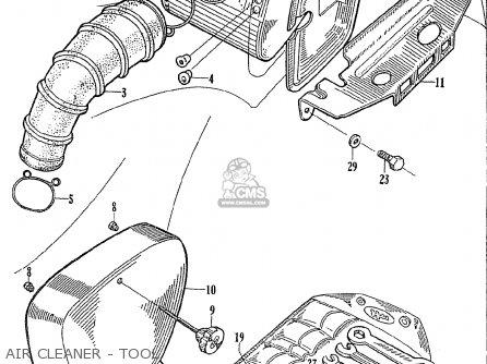 Honda Ce71 Dream Super Sport Air Cleaner - Tool