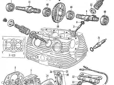 Honda Ce71 Dream Super Sport Camshaft - Valve