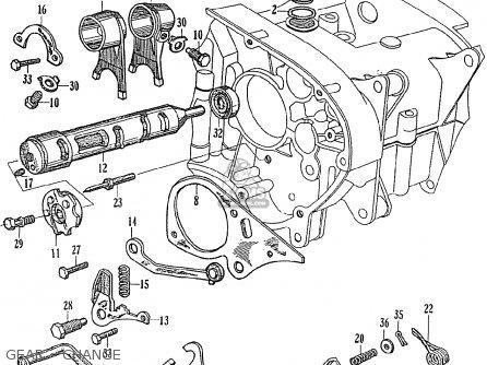 Honda Ce71 Dream Super Sport Gear - Change