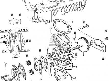 Honda Ce71 Dream Super Sport Oil Pump