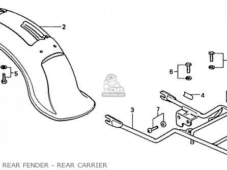 honda cf50c chally general export parts lists and schematics. Black Bedroom Furniture Sets. Home Design Ideas